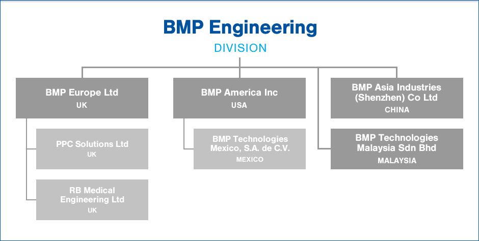 BMP Engineering Group Structure
